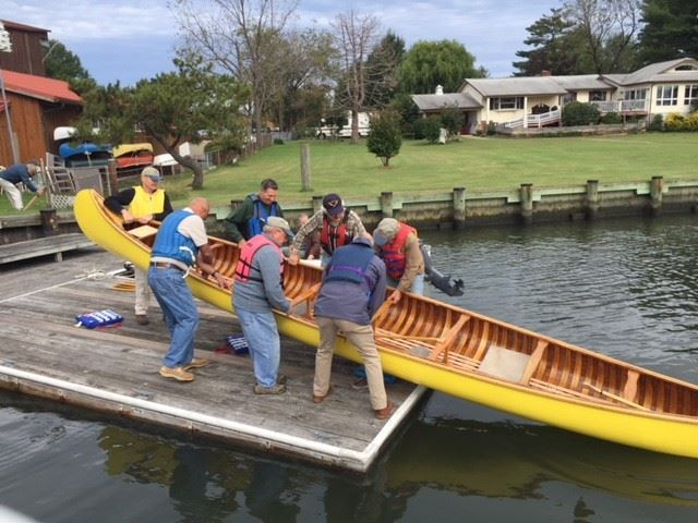 Photo 2 - Canoe relaunched
