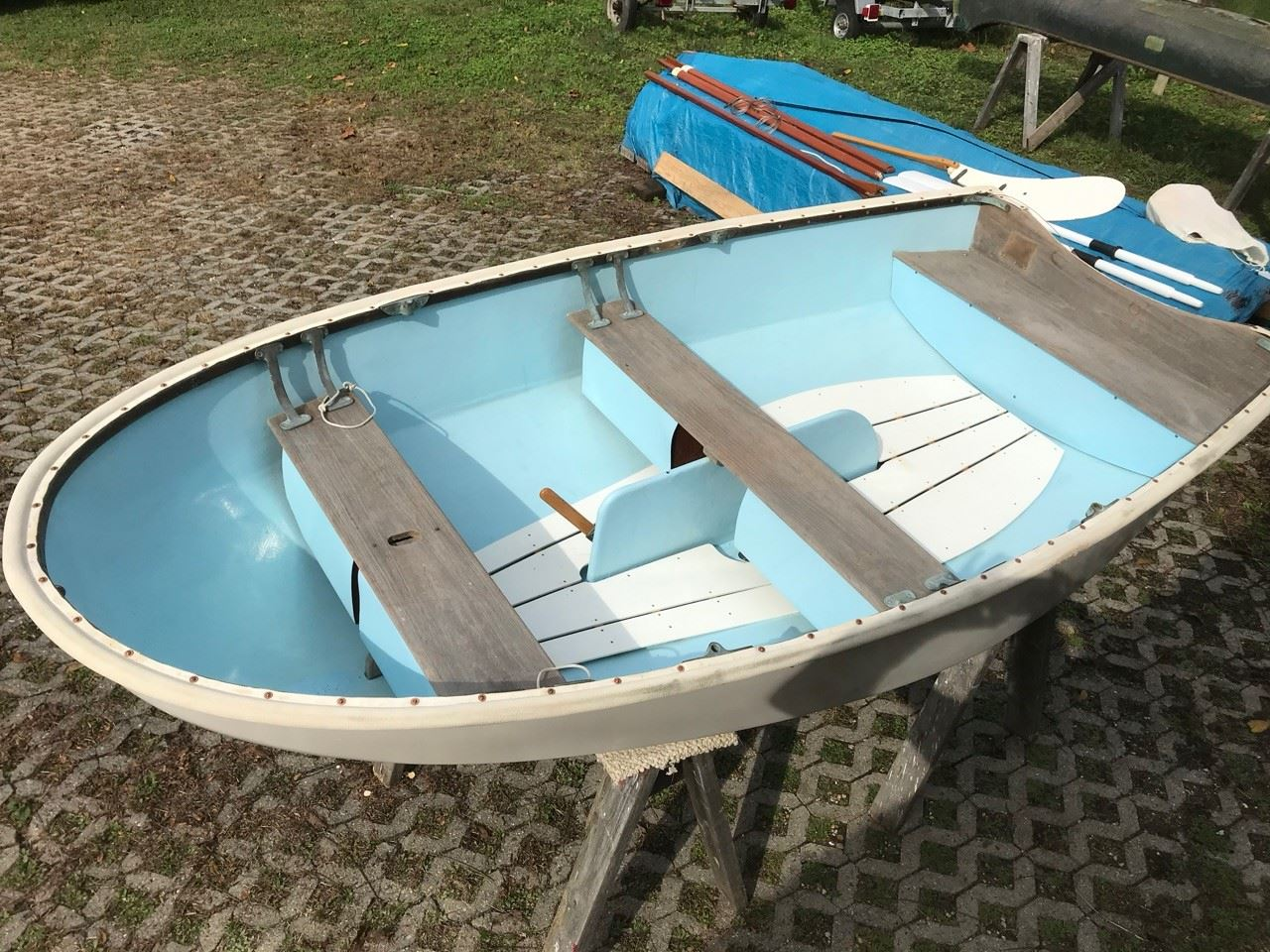 Dyer Dhow dinghy with sailing rig - 3